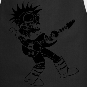 punk rock metal music - Cooking Apron