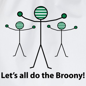 Let's all do the Broony T-Shirts - Drawstring Bag