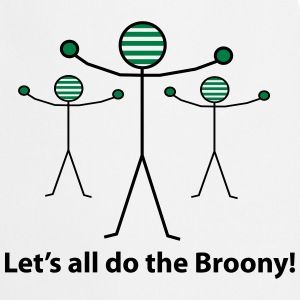 Let's all do the Broony T-Shirts - Cooking Apron