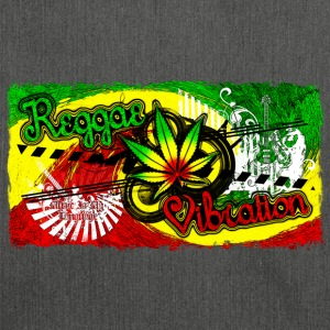 reggae vibration T-Shirts - Shoulder Bag made from recycled material
