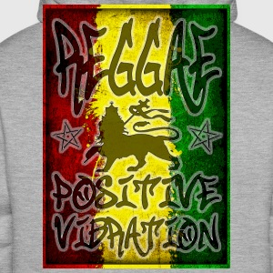 reggae positive vibration T-Shirts - Men's Premium Hoodie