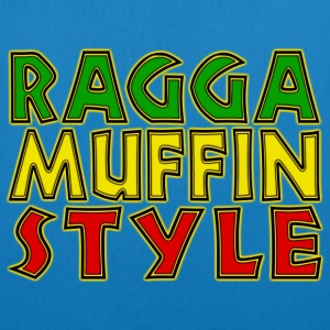 ragga muffin style T-Shirts - EarthPositive Tote Bag