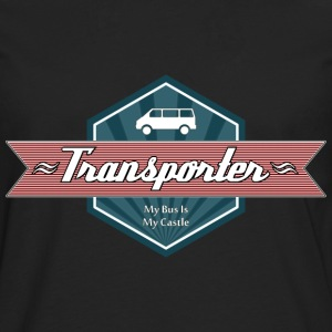 Transporter Retro-Red [Men] - Männer Premium Langarmshirt