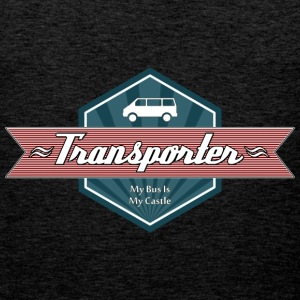 Transporter Retro-Red [Men] - Männer Premium Tank Top