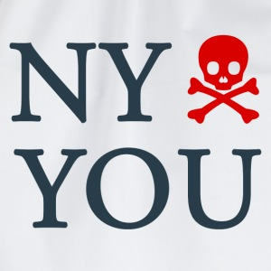 New york hates you - Sportstaske
