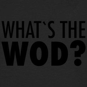 What´s The WOD Tee shirts - T-shirt manches longues Premium Homme