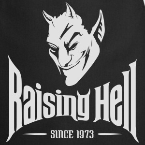 Raising Hell Since 1973 - 40th Birthday T Shirt - Cooking Apron