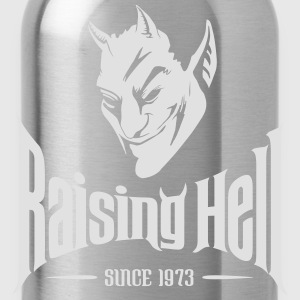 Raising Hell Since 1973 - 40th Birthday T Shirt - Water Bottle