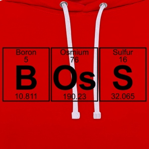 B-Os-S (boss) - Full T-Shirts - Contrast Colour Hoodie