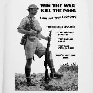 Win the War - Kill the Poor T-Shirts - Cooking Apron