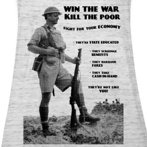 Win the War - Kill the Poor T-Shirts - Women's Tank Top by Bella