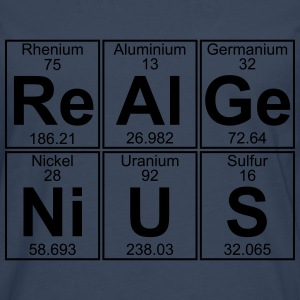 Re-Al-Ge-Ni-U-S (real genius) - Full T-Shirts - Men's Premium Longsleeve Shirt