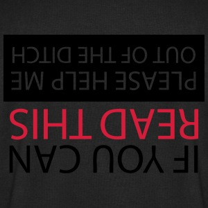 If you can read this ive crashed T-Shirts - Men's Sweatshirt by Stanley & Stella