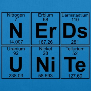 N-Er-Ds U-Ni-Te (nerds unite) - Full T-Shirts - EarthPositive Tote Bag