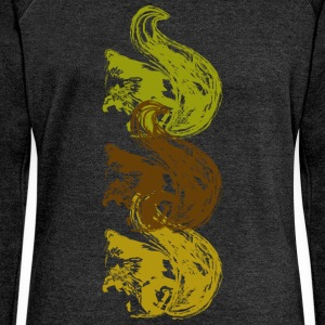Squirrel T-Shirts - Women's Boat Neck Long Sleeve Top