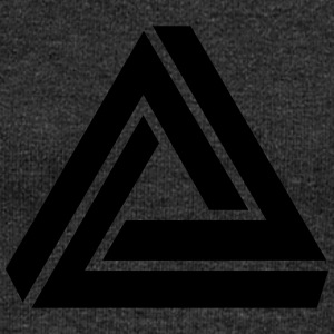 Penrose triangle, Impossible, illusion, Escher Tee shirts - Pull Femme col bateau de Bella