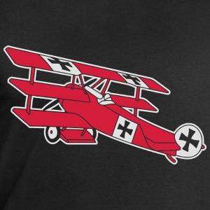 Fokker Airplane Flugzeug Roter Baron Red World War Tee shirts - Sweat-shirt Homme Stanley & Stella