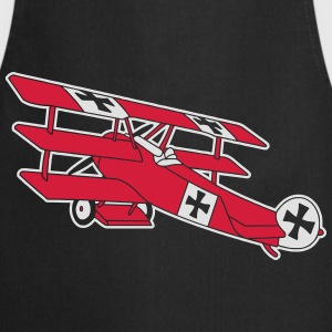 Fokker Airplane Flugzeug Roter Baron Red World War Tee shirts - Tablier de cuisine