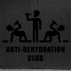 Anti-Dehydration Club (Party) T-Shirt - Snapback Cap