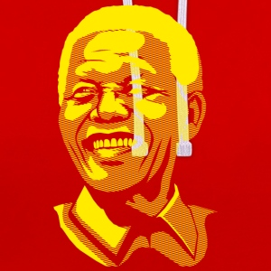 Mandela Posterised T-Shirts - Contrast Colour Hoodie