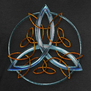 Blue Celtic Triquetra Ornament.png Tee shirts - Sweat-shirt Homme Stanley & Stella