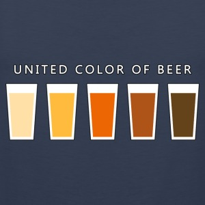United Color OF BEER (dd) T-Shirts - Men's Premium Tank Top