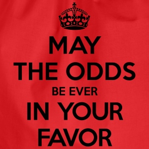 May the odds be ever in your favor (Keep Calm) Tee shirts - Sac de sport léger