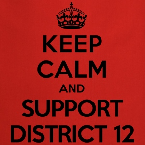 Keep calm and support District 12 (Hunger Games) T-skjorter - Kokkeforkle