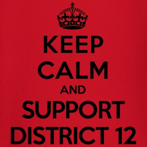 Keep calm and support District 12 (Hunger Games) T-skjorter - Langarmet baby-T-skjorte