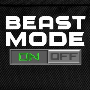 BEAST MODE ON/OFF T-Shirts - Kinder Rucksack