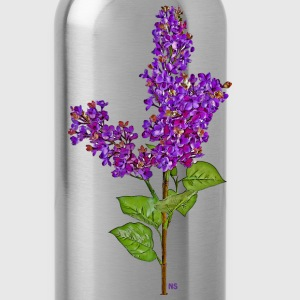 Dark purple lilac T-Shirts - Water Bottle