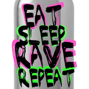 Rave Repeat T-shirts - Vattenflaska