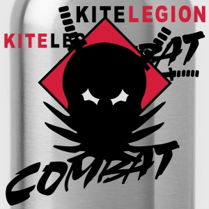 kl_vec_3c_png_combat_front T-shirts - Trinkflasche