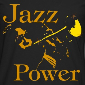 jazz power 06 Tee shirts - T-shirt manches longues Premium Homme