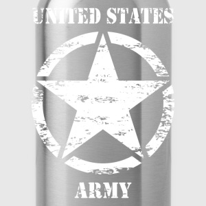 us vintage army star 02 T-Shirts - Water Bottle