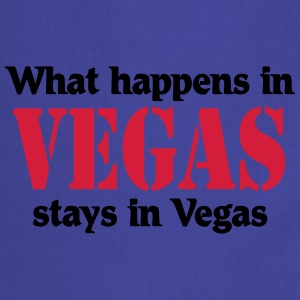 What happens in Vegas, stays in Vegas Camisetas - Delantal de cocina