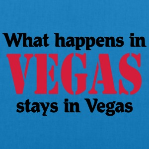 What happens in Vegas, stays in Vegas T-shirts - Øko-stoftaske
