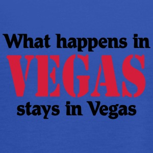What happens in Vegas, stays in Vegas T-Shirts - Women's Tank Top by Bella