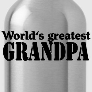 World's greatest Grandpa Magliette - Borraccia