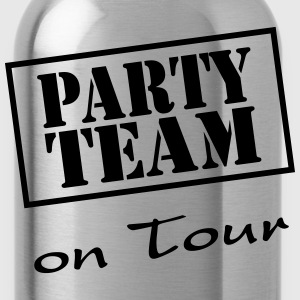 Party Team on Tour T-shirts - Drikkeflaske