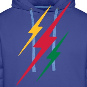 lightning thunder T-Shirts - Men's Premium Hoodie