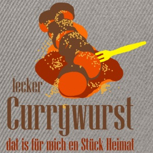 currywurst T-Shirts - Snapback Cap