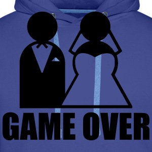 Game Over Tee shirts - Sweat-shirt à capuche Premium pour hommes