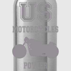 us motorcycles power 5 T-Shirts - Trinkflasche