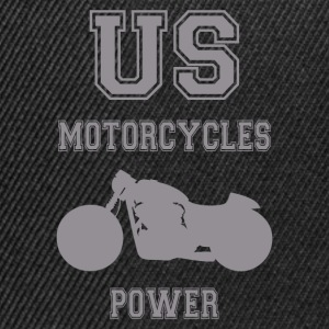 us motorcycles power 5 Tee shirts - Casquette snapback