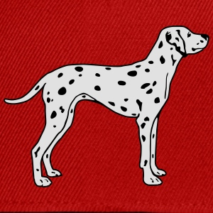 Dalmatian Dog Tee shirts - Casquette snapback