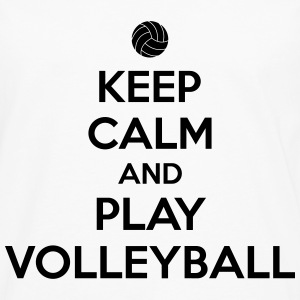 Keep calm and play volleyball Camisetas - Camiseta de manga larga premium hombre