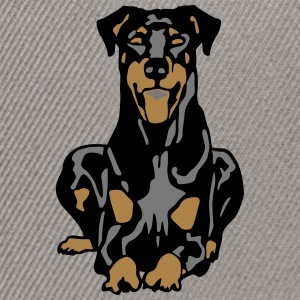 Dobermann Pinscher Dog Camisetas - Gorra Snapback