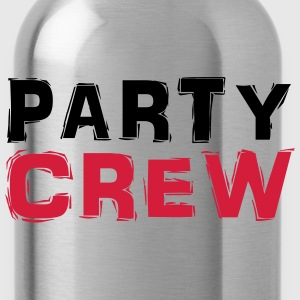 Party Crew T-Shirts - Trinkflasche