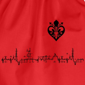 I love Firenze - by Jawdrop Visual - Sacca sportiva